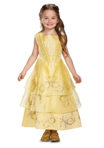 Belle Ball Gown Deluxe Child Costume