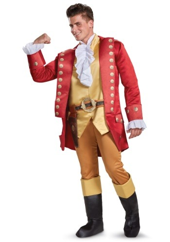 Beauty and the Beast Gaston Deluxe Men's Costume