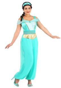 Disney Aladdin Deluxe Jasmine Women' Costume