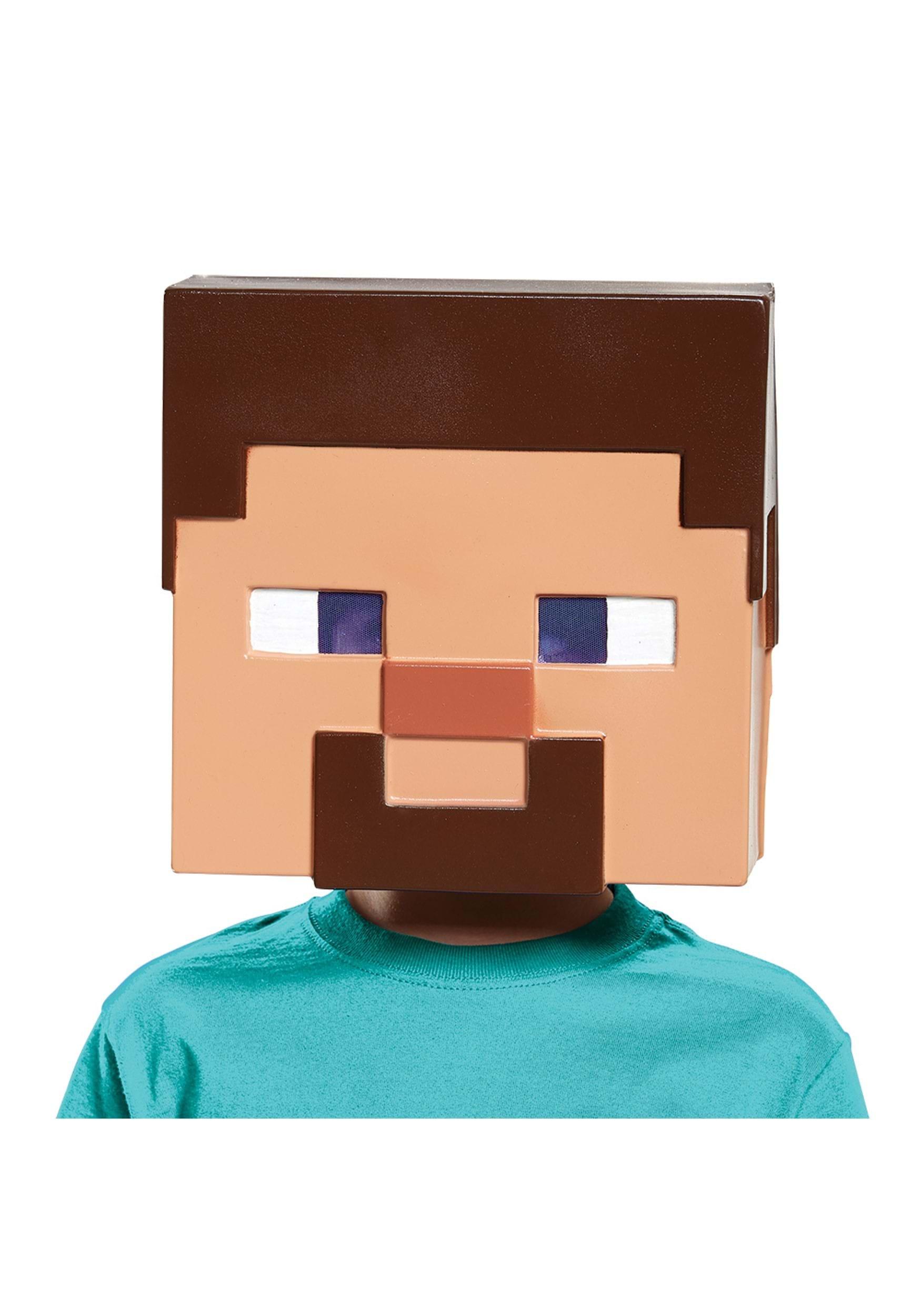 Minecraft Steve Vacuform Mask for Kids