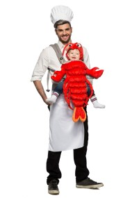 Master Chef & Maine Lobster Costume