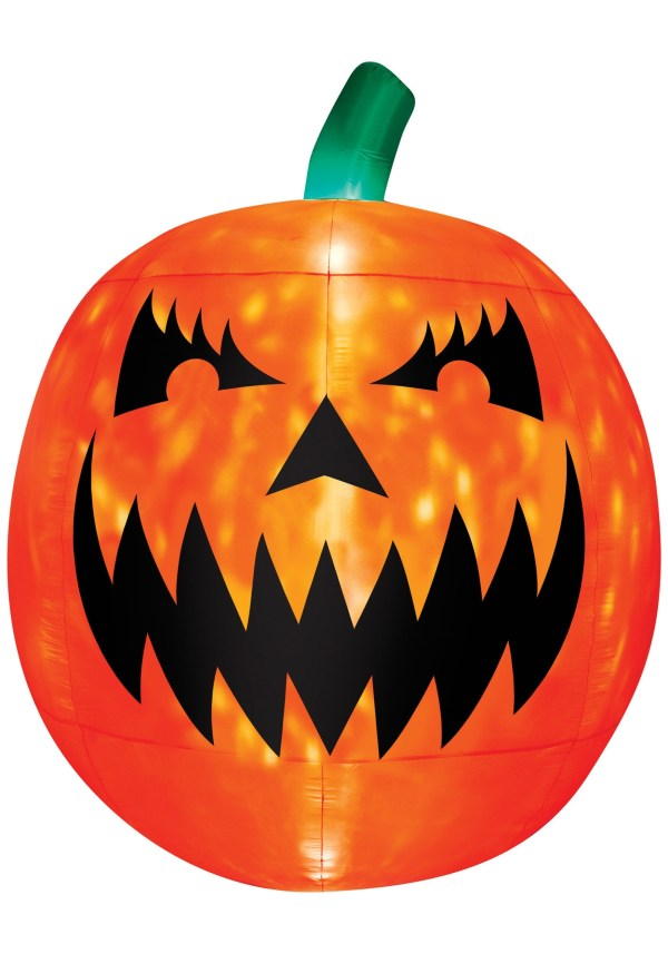 Inflatable Light Scary Pumpkin Decoration
