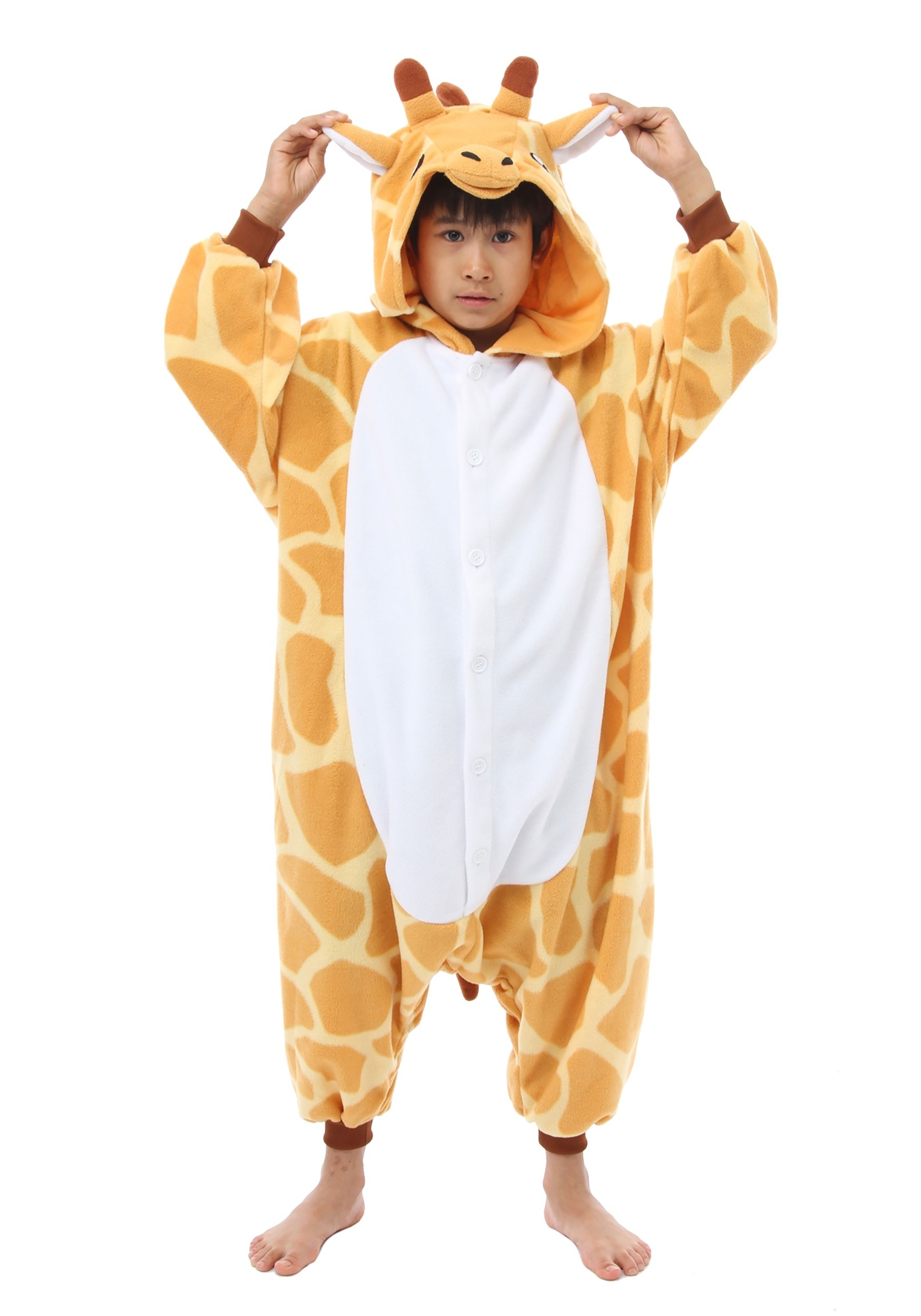 Giraffe Kigurumi For Kids Costume