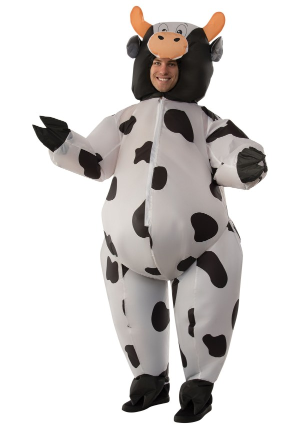 Inflatable Cow Costume Adult