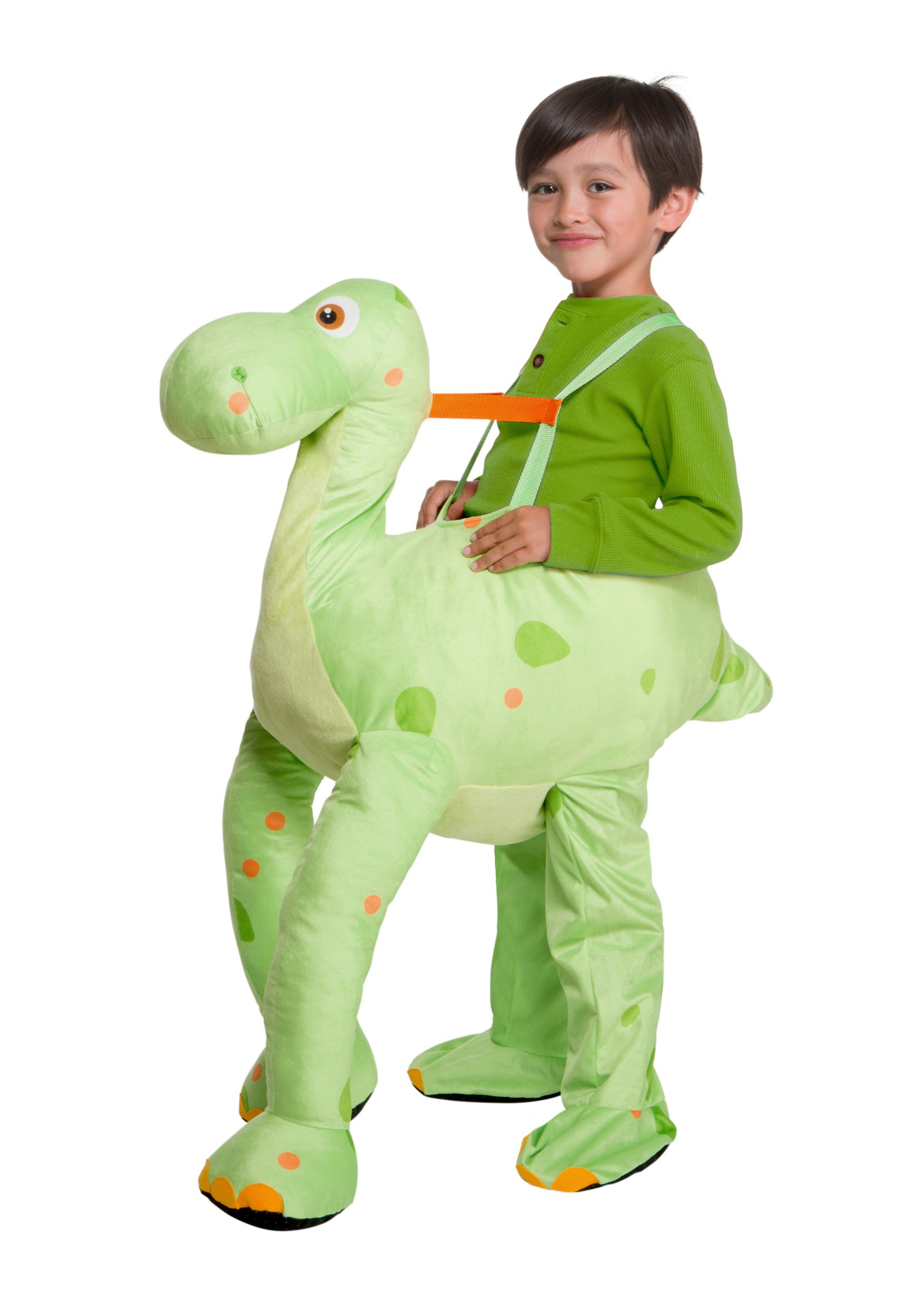 Green Dinosaur Costume For Toddlers