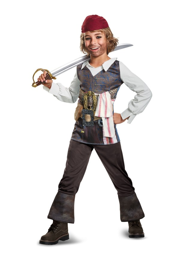 Captain Jack Sparrow Halloween Costume