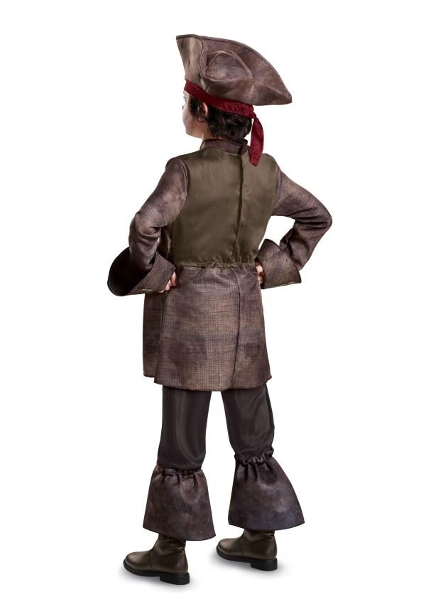 Captain Jack Sparrow Deluxe Costume Boys