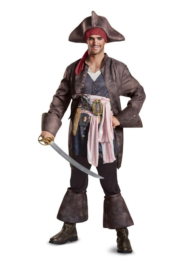 Captain Jack Sparrow Deluxe Costume Men