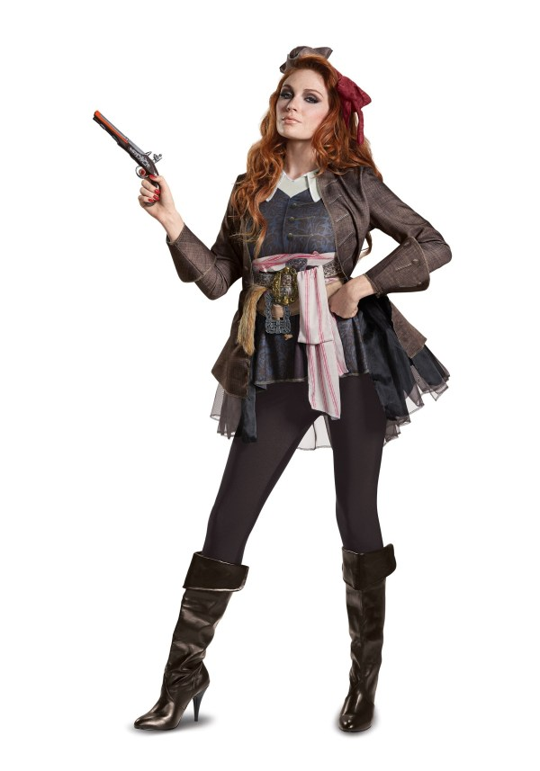 Jack Sparrow Women Halloween Costumes