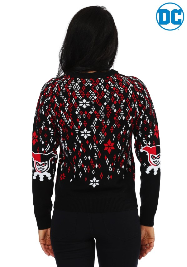 Harley Quinn Diamond Women' Ugly Christmas Sweater