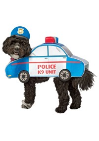 K-9 Police Car Costume for Dogs