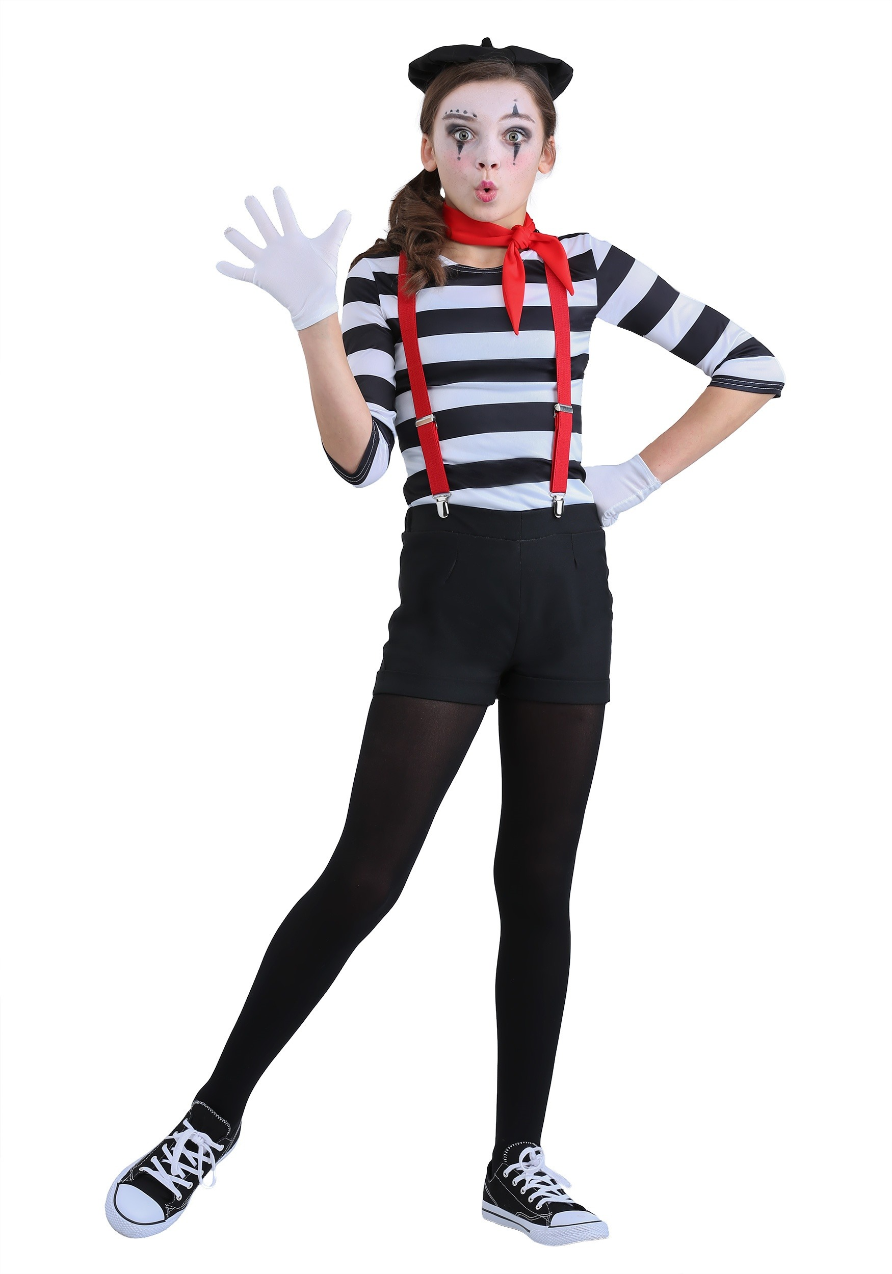 girl s mime costume
