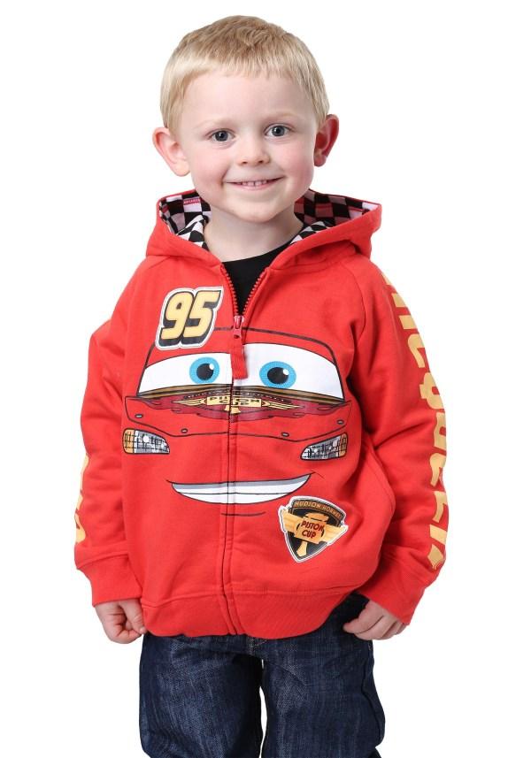 Disney Cars Lightning Mcqueen Costume Hoodie Kids