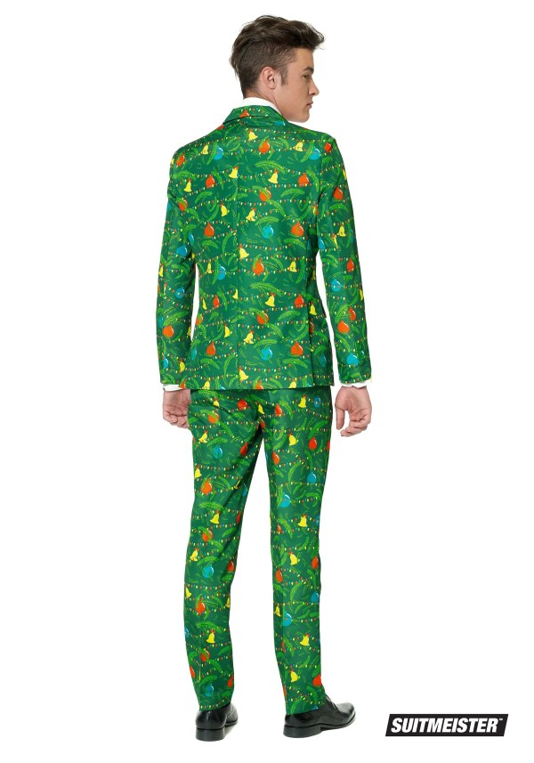 Green Christmas Tree Suitmeister Suit Men