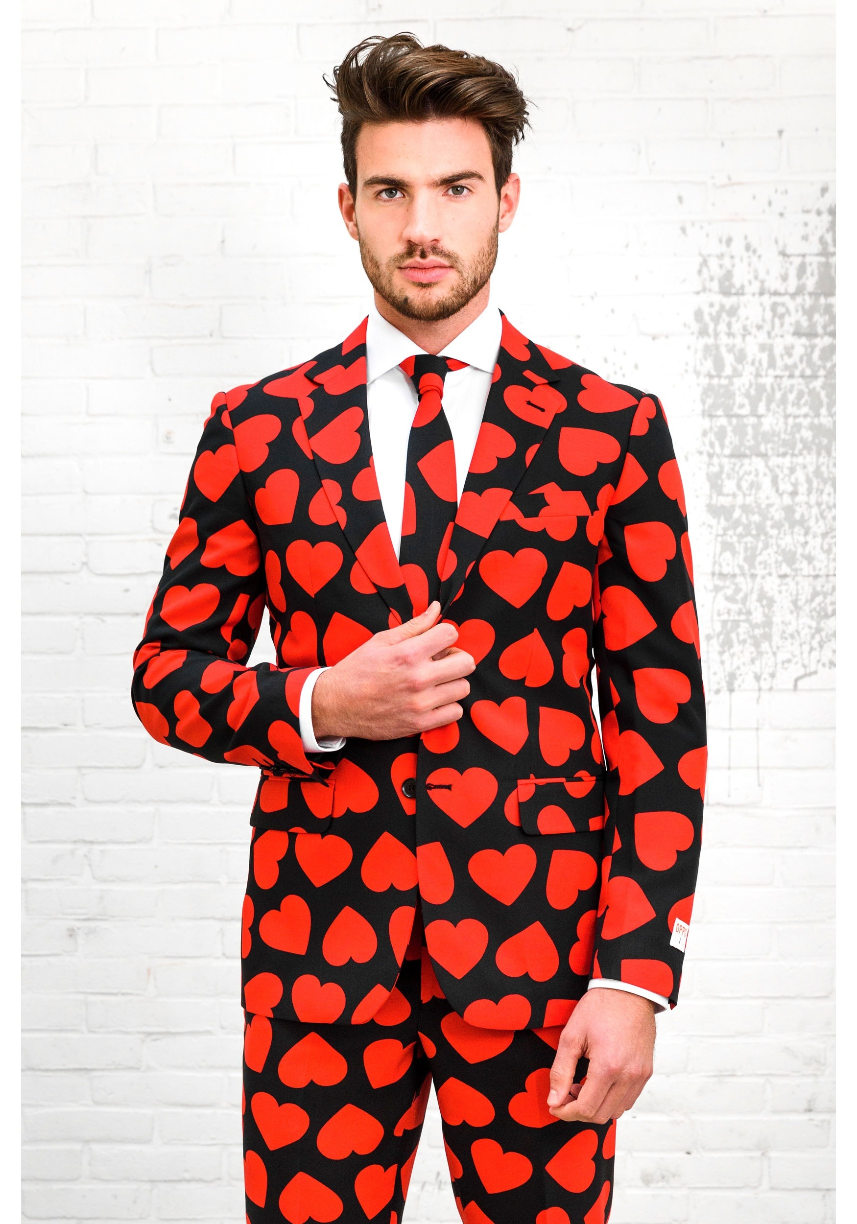 Opposuit King Of Hearts Suit For Men