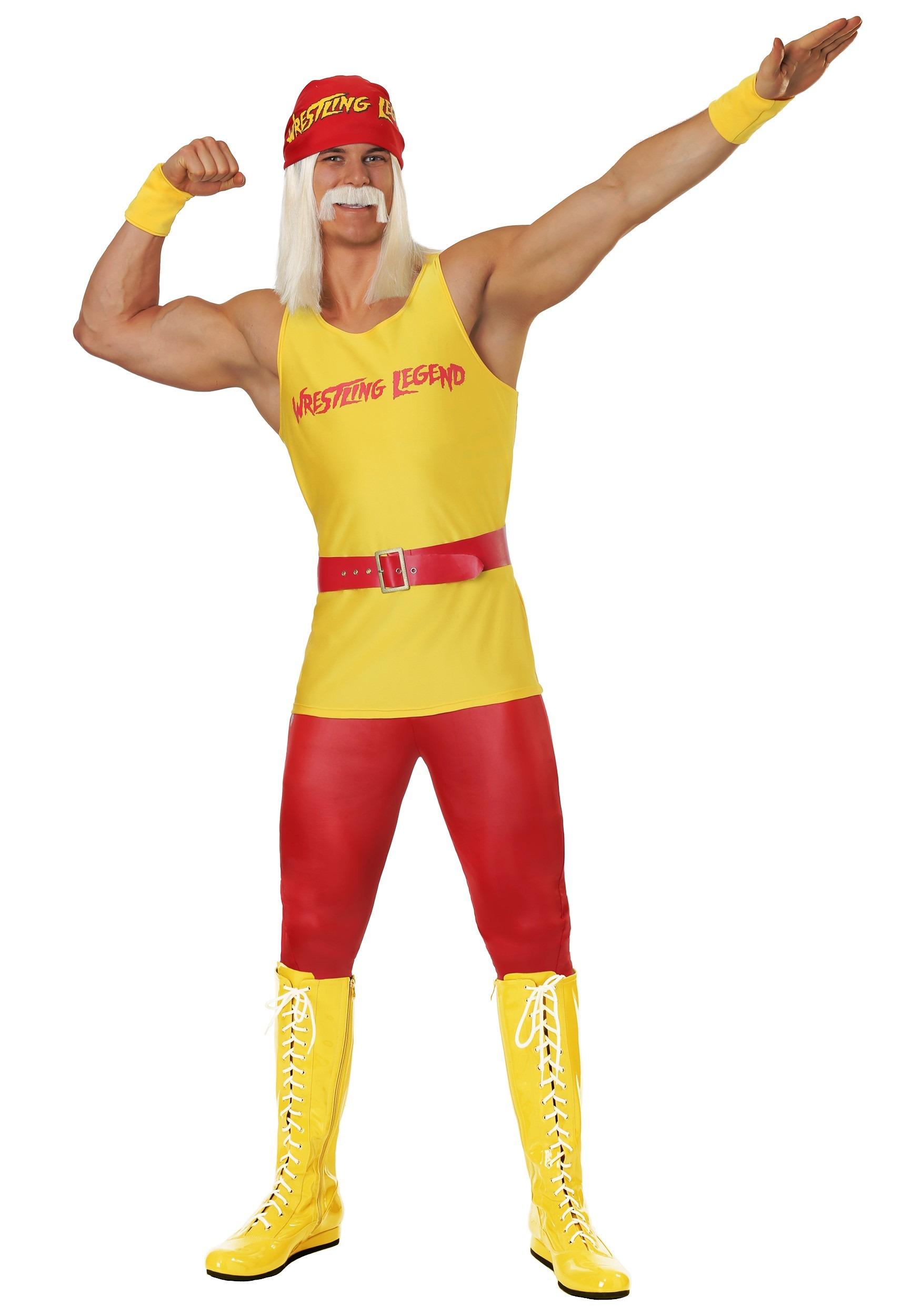 Wrestling Legend Men S Costume