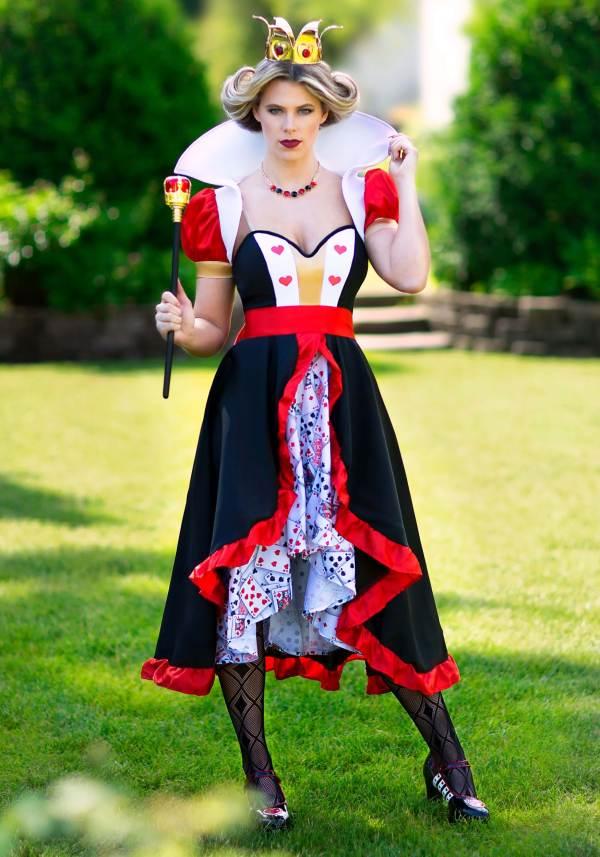 Flirty Queen Of Hearts Costume Women