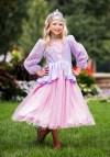 Girls Pink Princess Halloween Costume