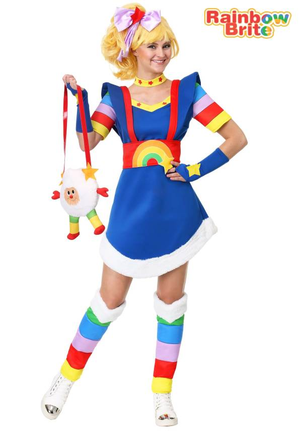 Rainbow Brite Women' Costume