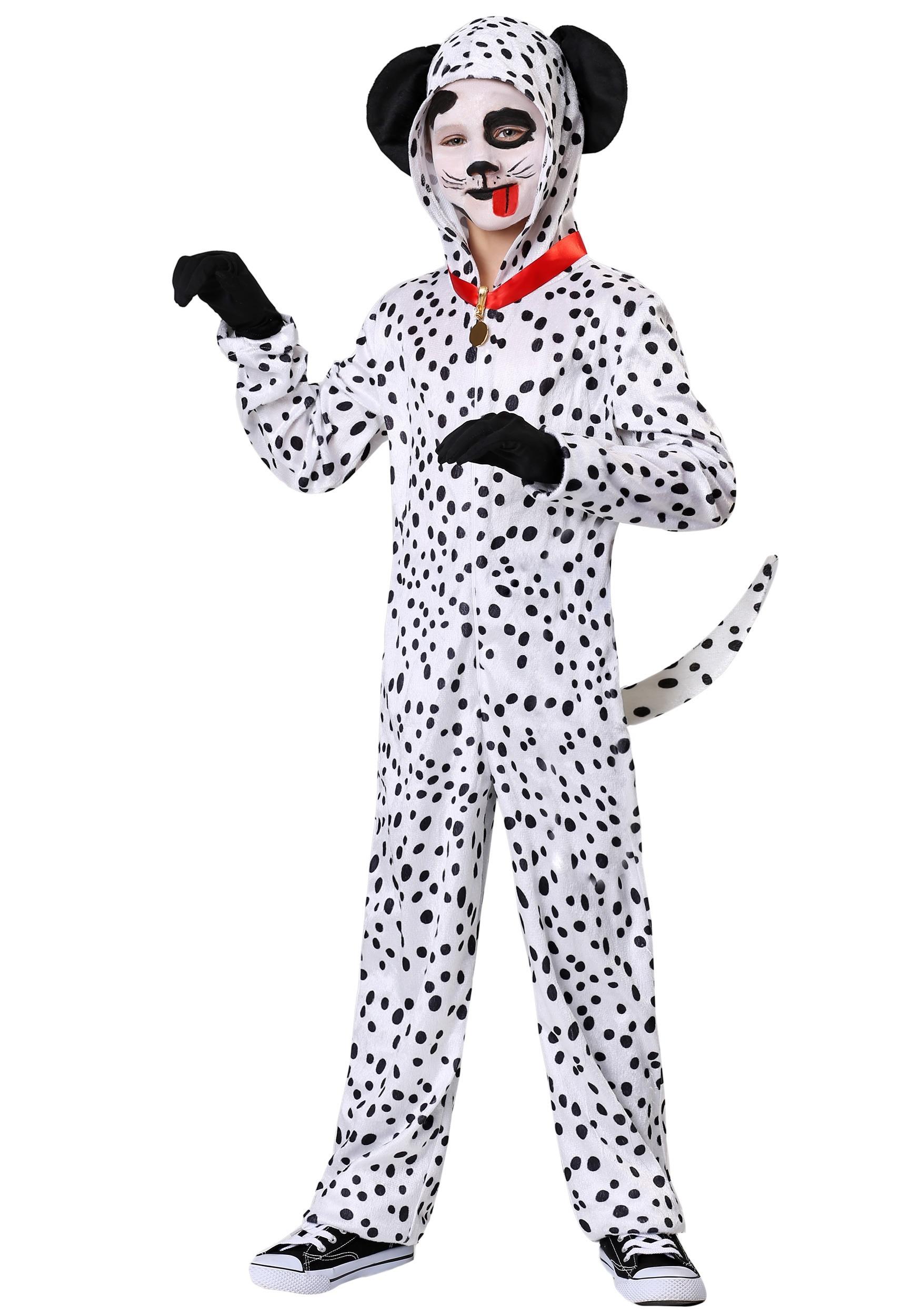 Delightful Dalmatian Child Costume