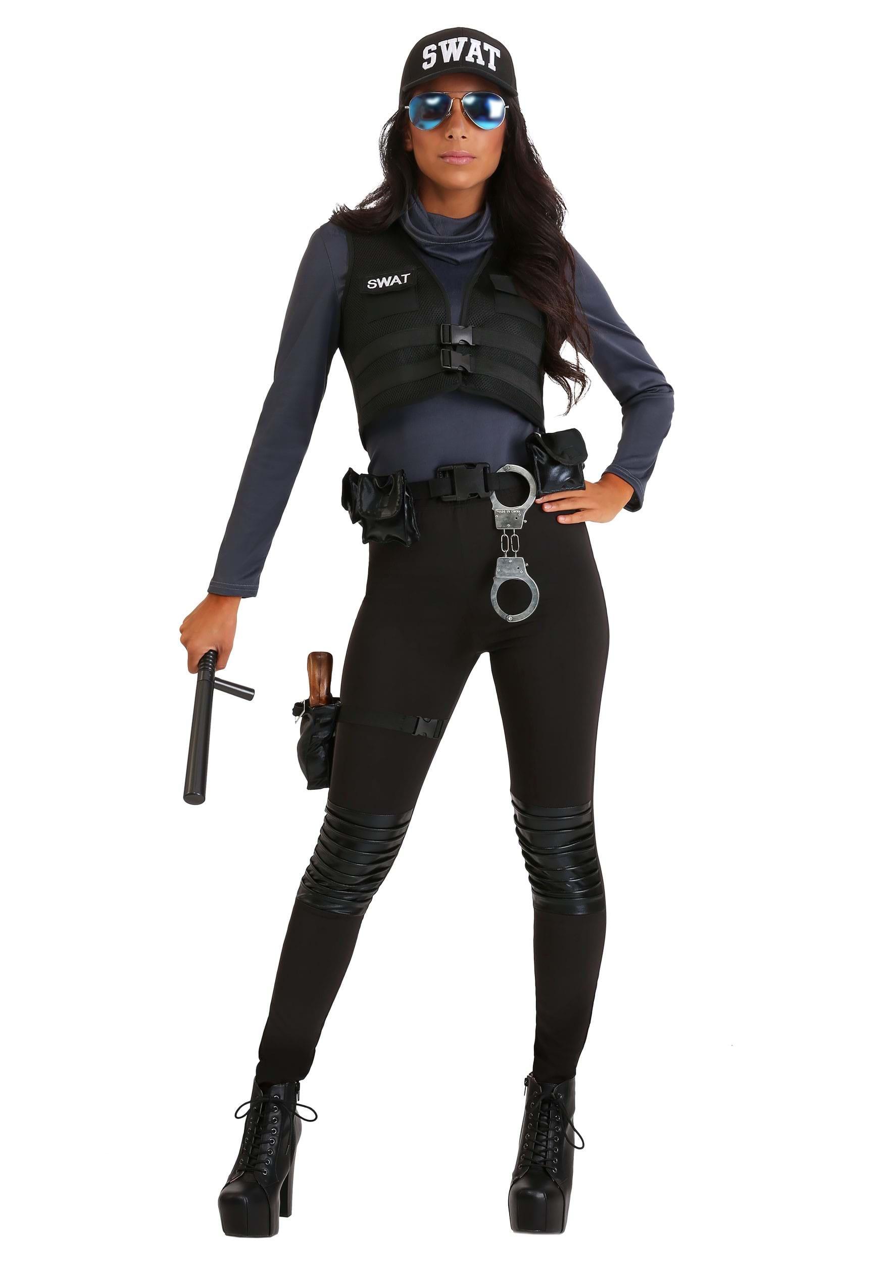Cozy Women39s Deluxe Swat Commander Costume
