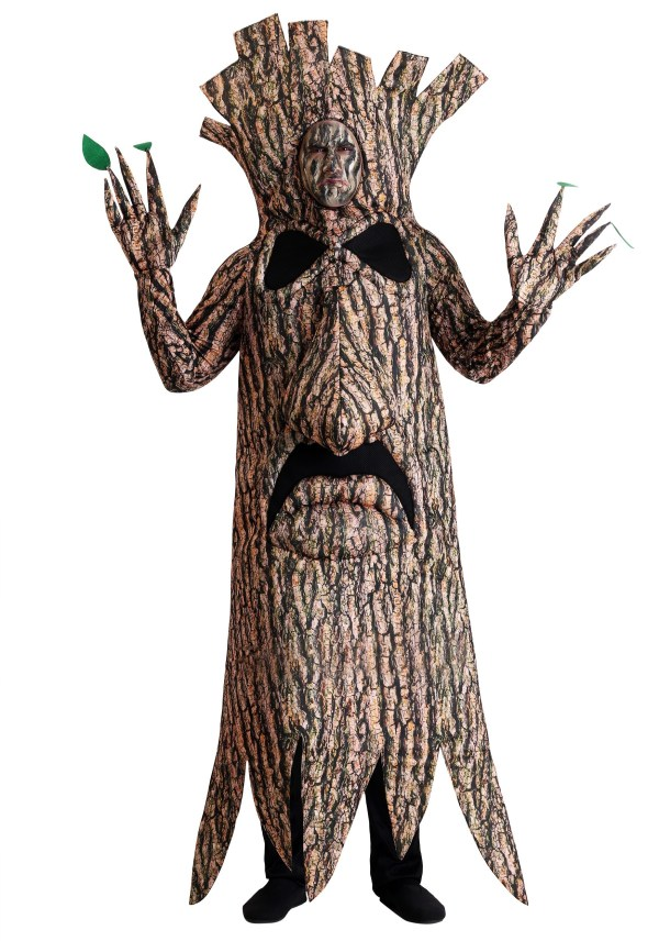 Size Terrifying Tree Costume Adults
