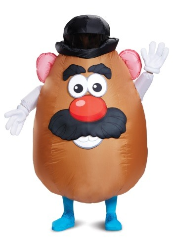 Inflatable Mr Potato Head Costume for Adults