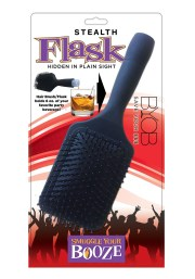 hair brush flask