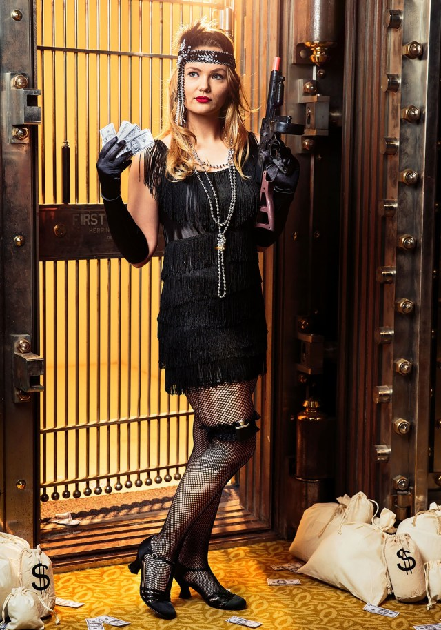 Women's Plus Size 1920's Flapper Costume | Decades Costume