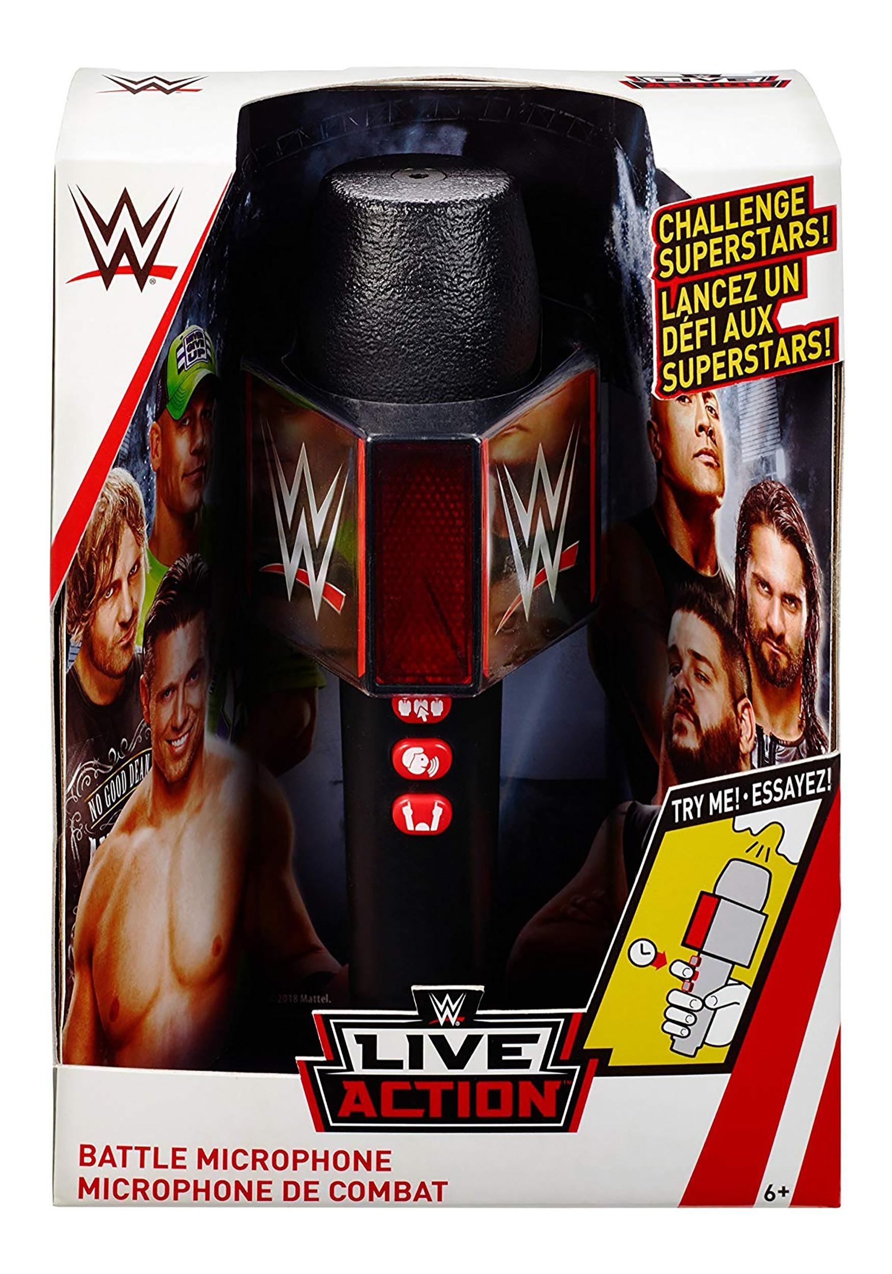 WWE Promo Battle Microphone