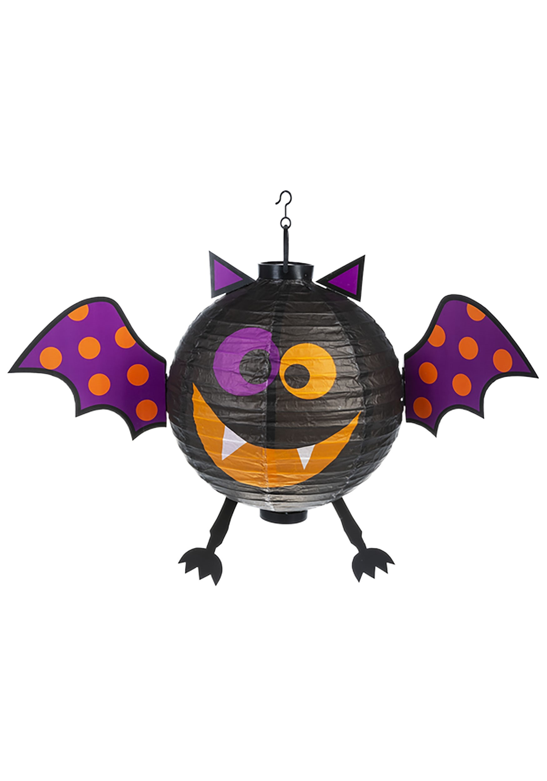 Halloween Black Bat Lantern