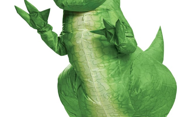 Kids Toy Story Rex Inflatable Costume
