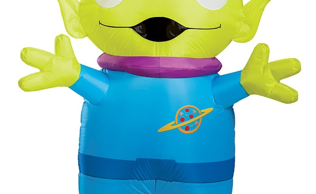 Adult Toy Story Alien Inflatable Costume