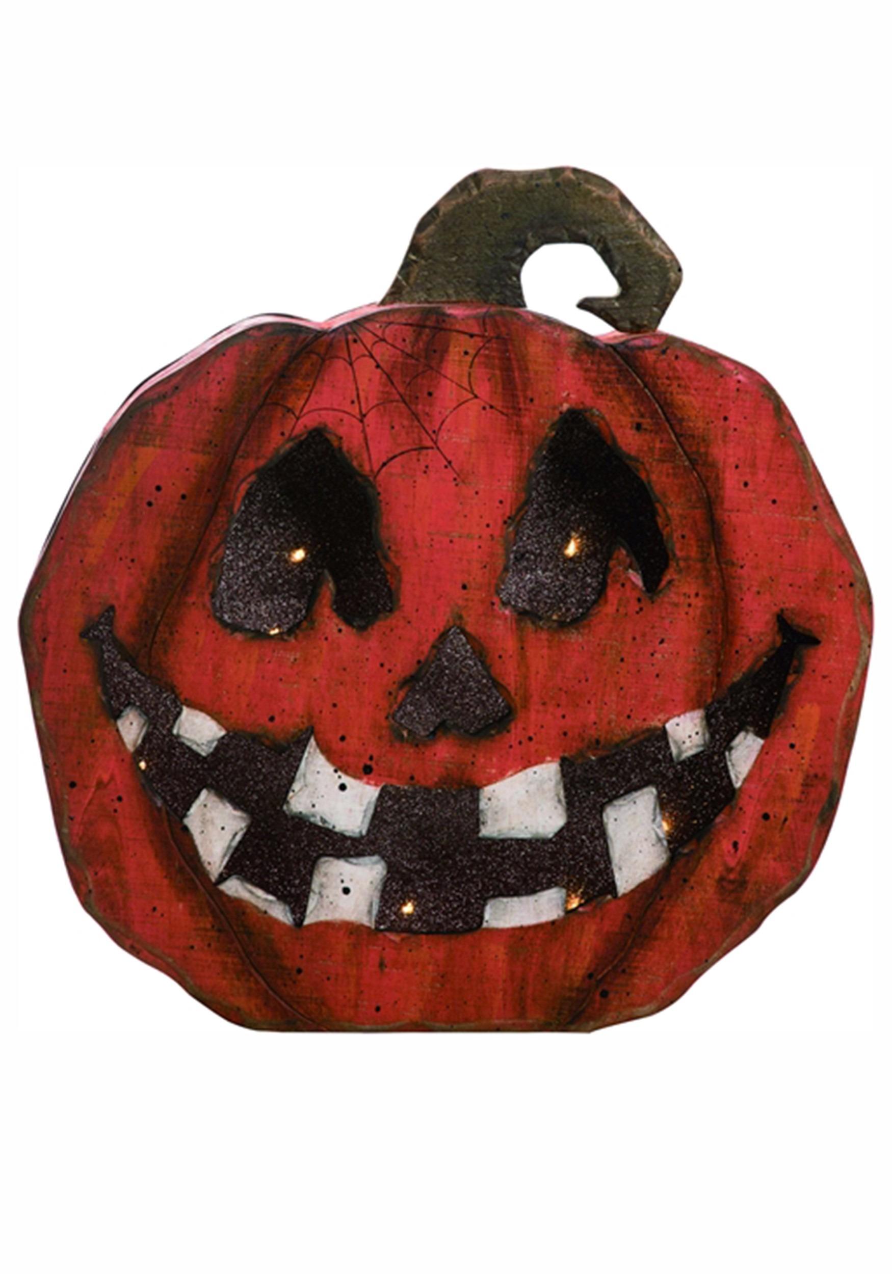 Jack-o-lantern Faces : jack-o-lantern, faces, Jack-O-Lantern, Pumpkin, Light, Halloween, Decor