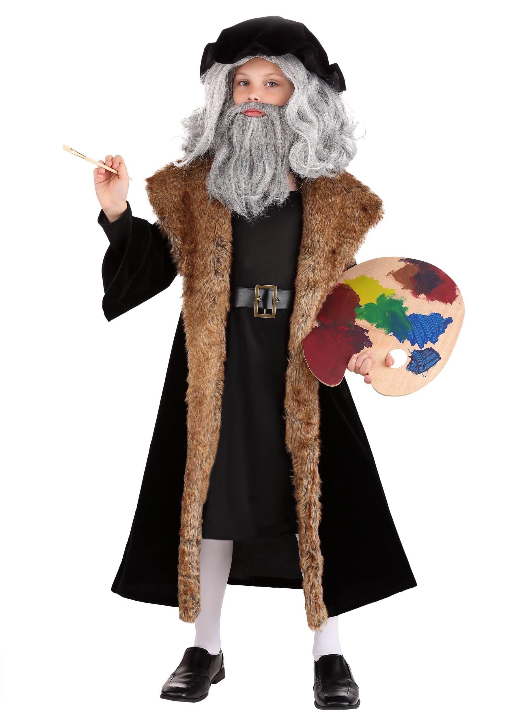 Leonardo Da Vinci Costume For Kids