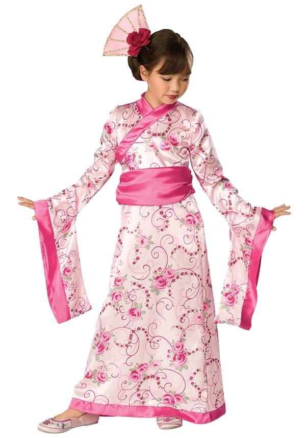 Child Kimono Princess Costume