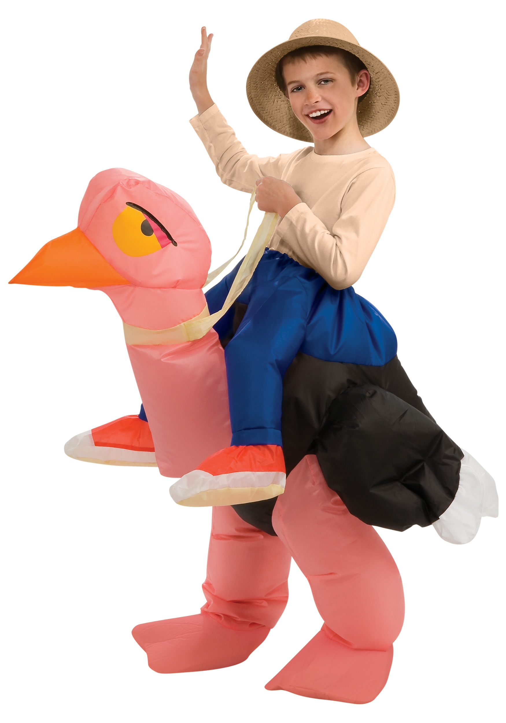 s child inflatable ostrich costume l