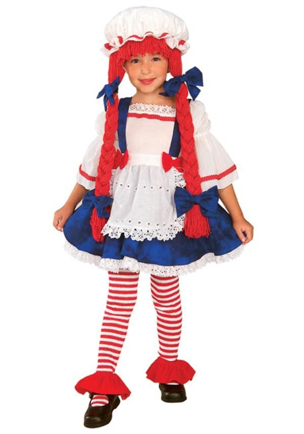 Toddler Rag Doll Costume