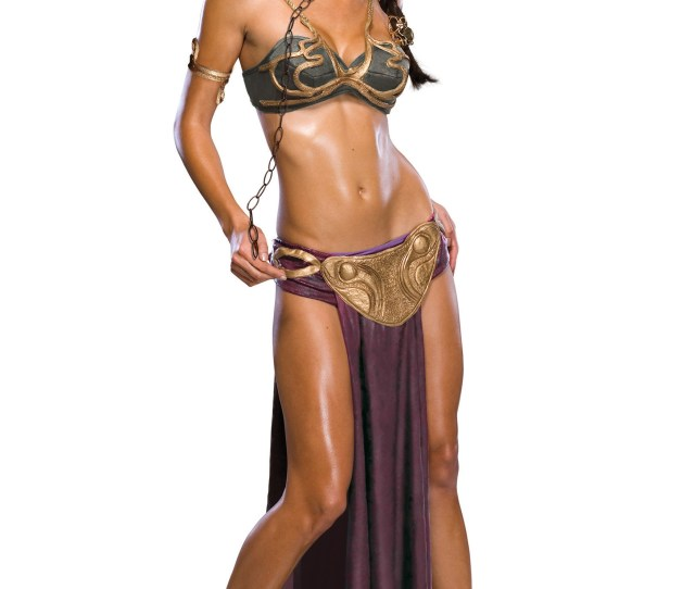 Sexy Princess Leia Slave Halloween Costumes