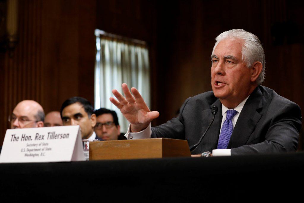 Tillerson, PA terrorists, Abbas