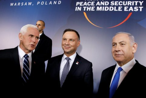 netanyahu at warsaw conference
