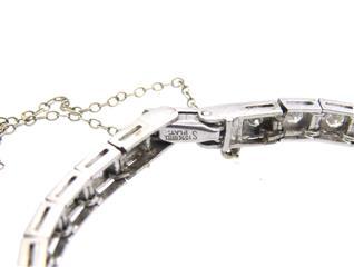Hamilton Platinum Diamond Lady's Watch Bracelet