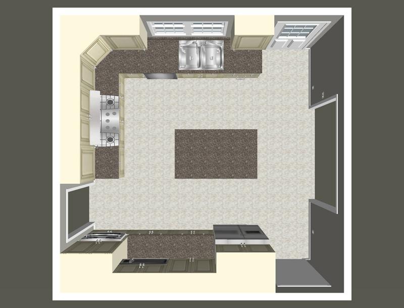 sears kitchen remodel grey backsplash cost vs. value project: major | remodeling