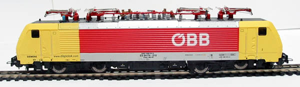 www.hattons.co.uk - Piko 57456 Class BR189 Electric loco of the Austrian OBB in yellow & red livery with large logo's Epoch V