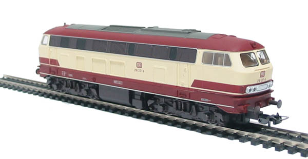 www.hattons.co.uk - Piko 57507 Class BR 218 217-8 of the DB in Trans Europe Express livery
