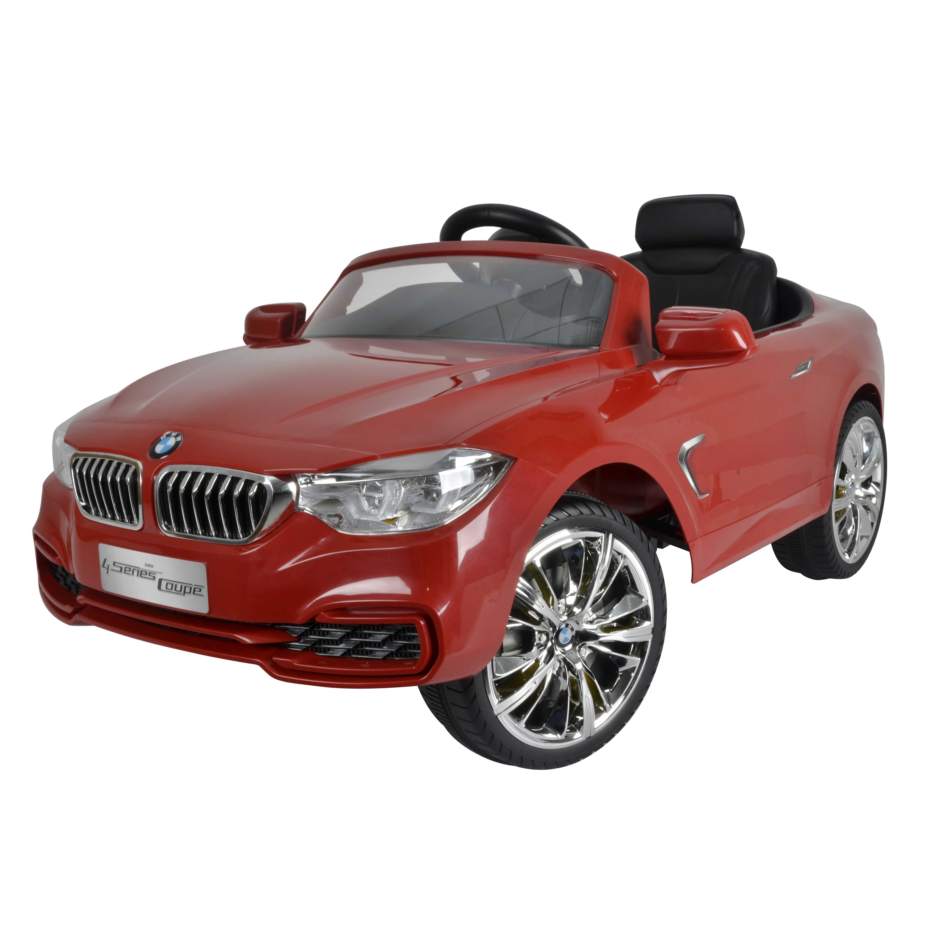 Ride Cars 12v Battery Powered Bmw 4 Series Toy Red 12 Volt