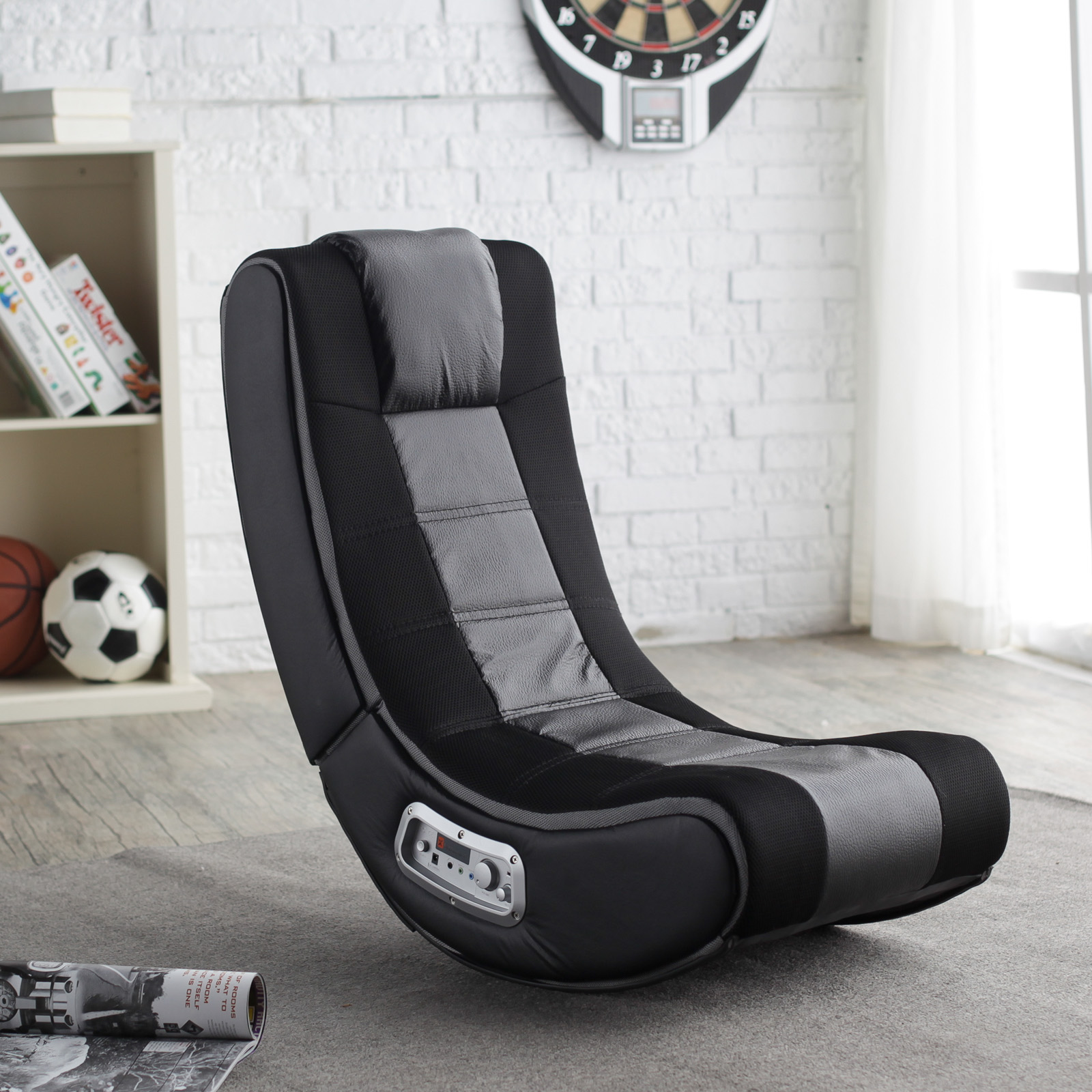 Video Games Chair X Rocker Se Wireless Black Game Chair 5130301 Video Game