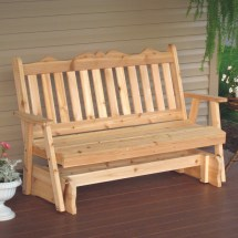 & L Furniture Western Red Cedar Royal English Outdoor