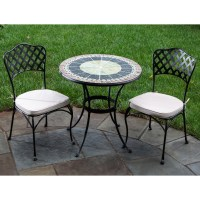 Ponte Mosaic Patio Bistro Set