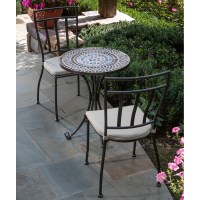 Tremiti Mosaic Patio Bistro Set